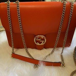 Authentic Gucci Interlocking bag